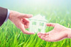 Договор дарения доли дома с земельным участком
