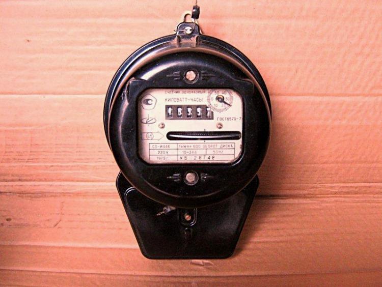счетчик электроэнергии фото