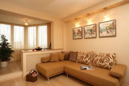 Балкон. присоединенный к комнате, будет включен в жилую площадь квартиры