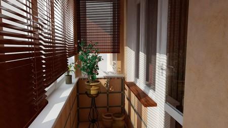 Даже остекленный и утепленный балкон не включается в общую площадь квартиры