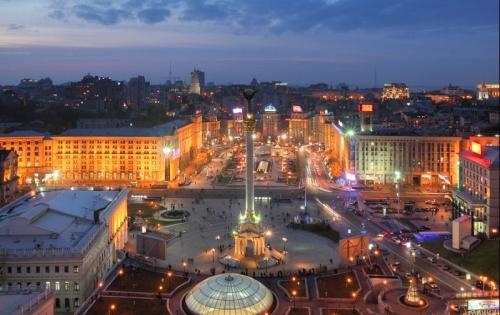 Площадь в Киеве