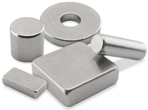 Неодимовые магниты отличаются по форме и весу