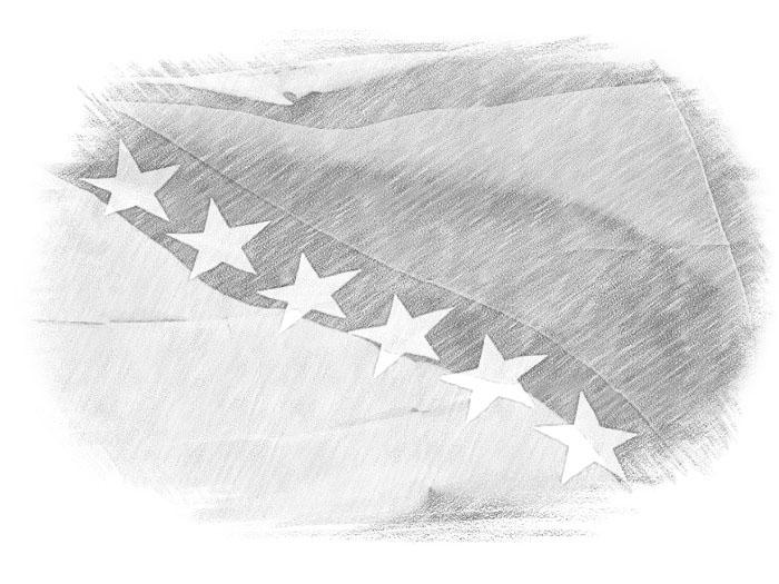 Флаг Боснии