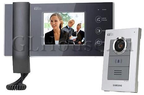 видеодомофон и подъездный домофон