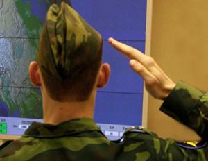 Военный в пилотке