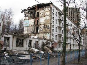 Расселение жильцов из аварийного жилья в России