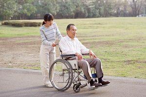 уод за инвалидом