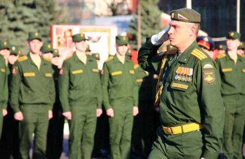 Служба по контракту для офицеров
