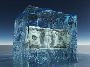 Заморозка денег