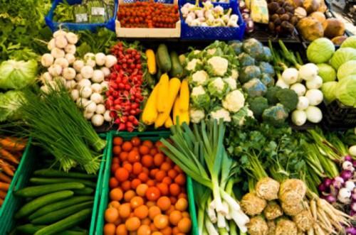 Пример скоропортящихся грузов - овощей и фруктов