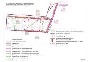 Образец графической части проекта межевания территории линейного объекта
