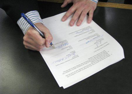 Расписка о возмещении ущерба при ДТП