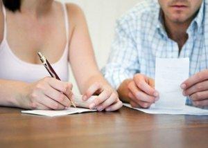 Разделение лицевого счета производят с целью разграничения финансовых обязанностей