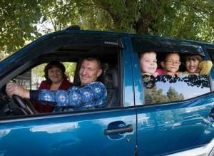 Транспорт для многодетной семьи