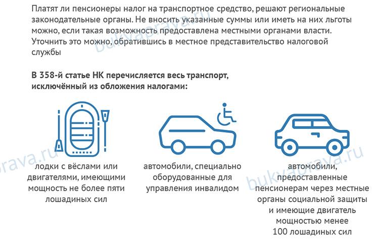 Transportnyj nalog dlya pensionerov
