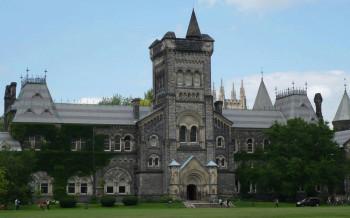 университет Торонто в Канаде
