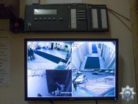 Монитор системы видеонаблюдения